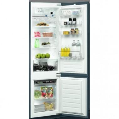 Встраиваемый двухкамерный холодильник WHIRLPOOL ART 9610/A+, царапина снизу (фото)